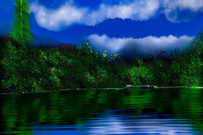 Keep Magic - Lake in the Mountains