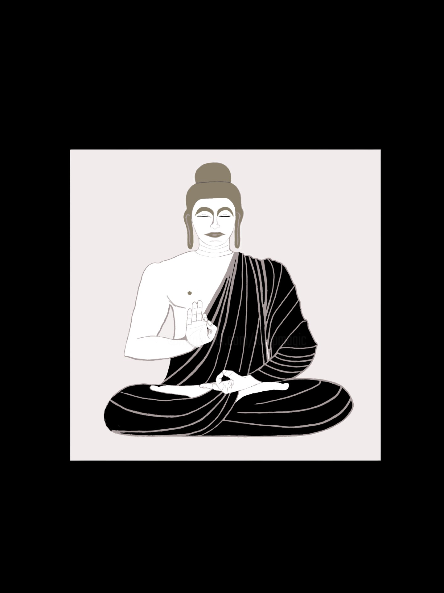 Keep Magic - Buddha