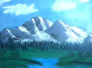 Berglandschaft mit Fluss