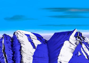 Ice Desert Mountains